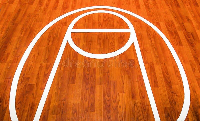 Cour de jeu de basket-ball photos stock