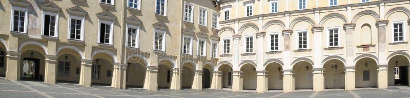 Cour de la Renaissance photo libre de droits