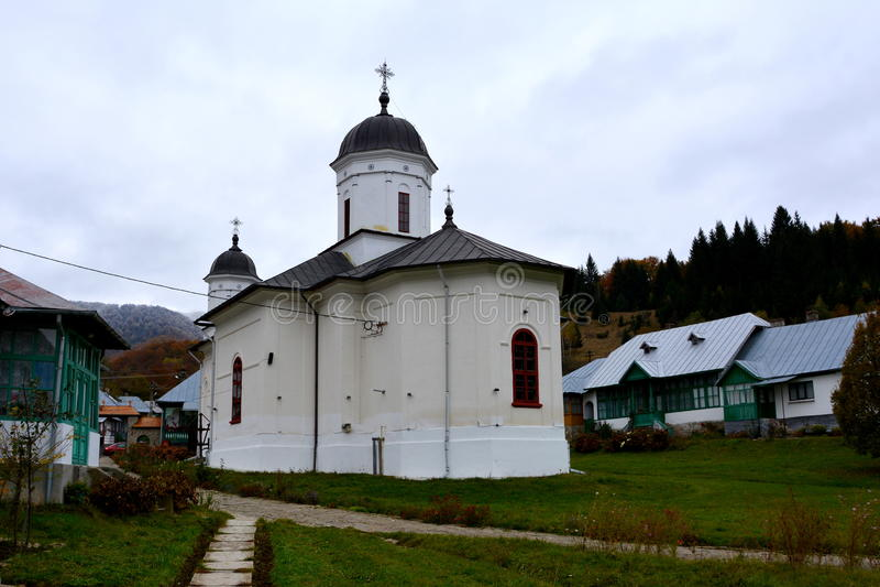 Cour de monastère de Suzana photographie stock
