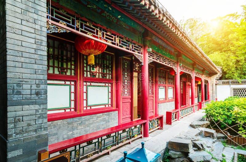 Cour de Pékin dans Qing Dynasty photographie stock libre de droits