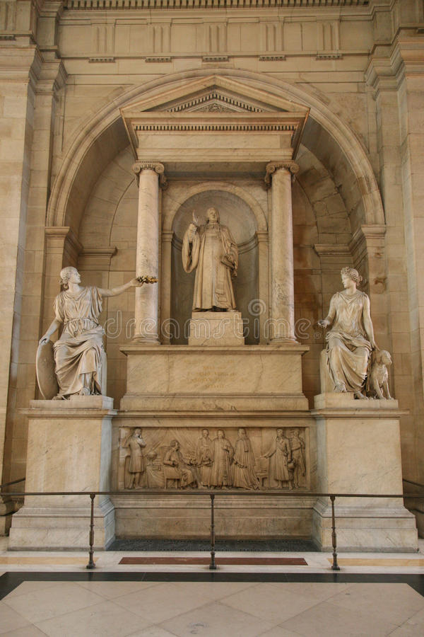 Cour De Paris photo stock