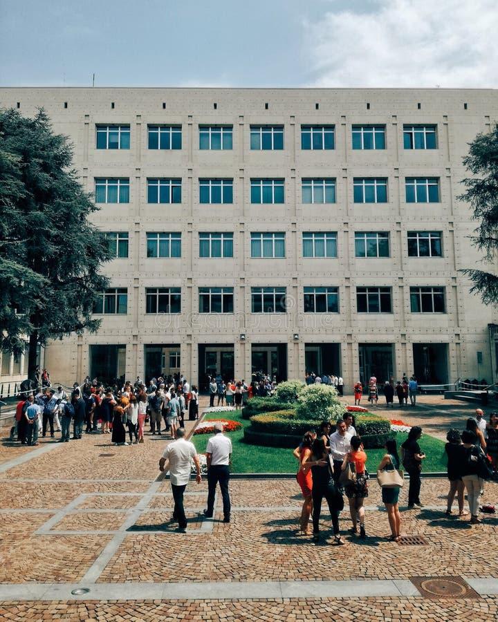 Cour de Politecnico photos libres de droits