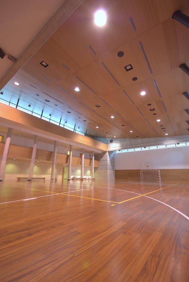 Cour de sport - d'intérieur photo libre de droits