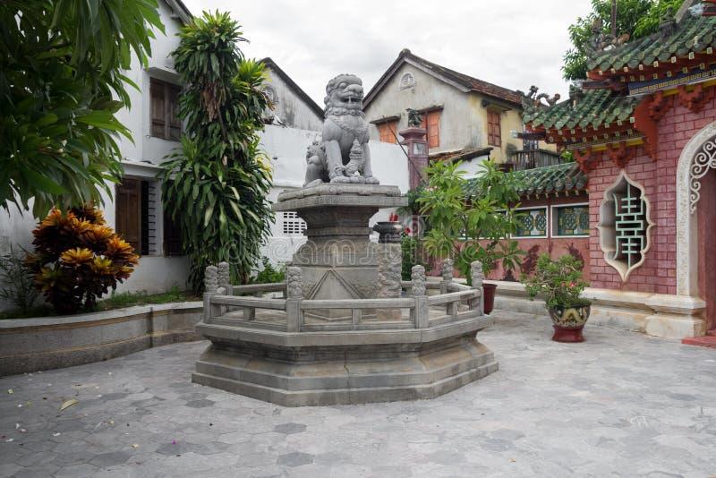 Cour de temple chinois photo libre de droits