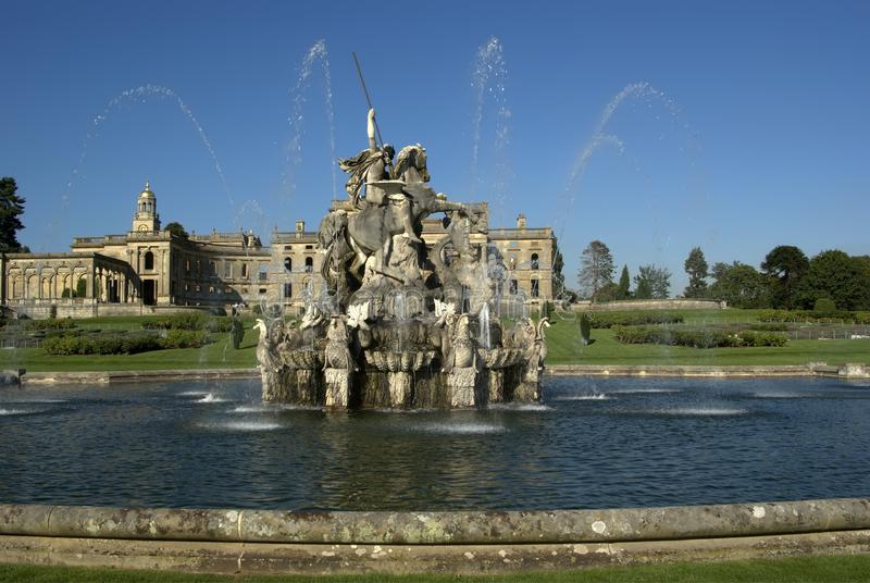 Cour de Witley photo stock