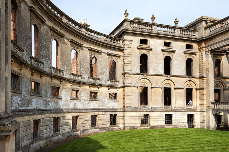 COUR DE WITLEY, GRAND WITLEY/WORCESTERSHIRE - 10 AVRIL : Witley Co image stock