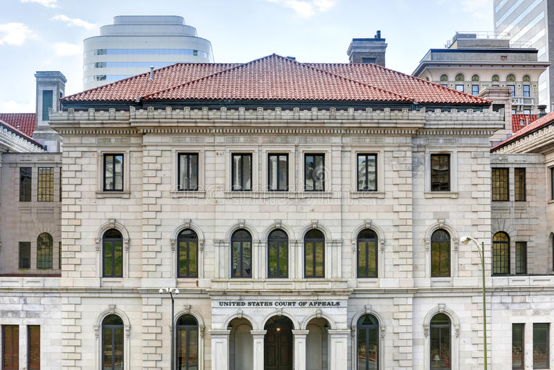 Cour des USA des appels - Richmond, la Virginie images libres de droits