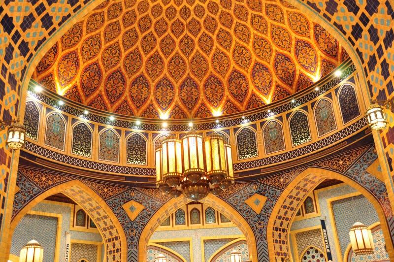 Cour Dome3 d'Ibn Battuta Perse images libres de droits