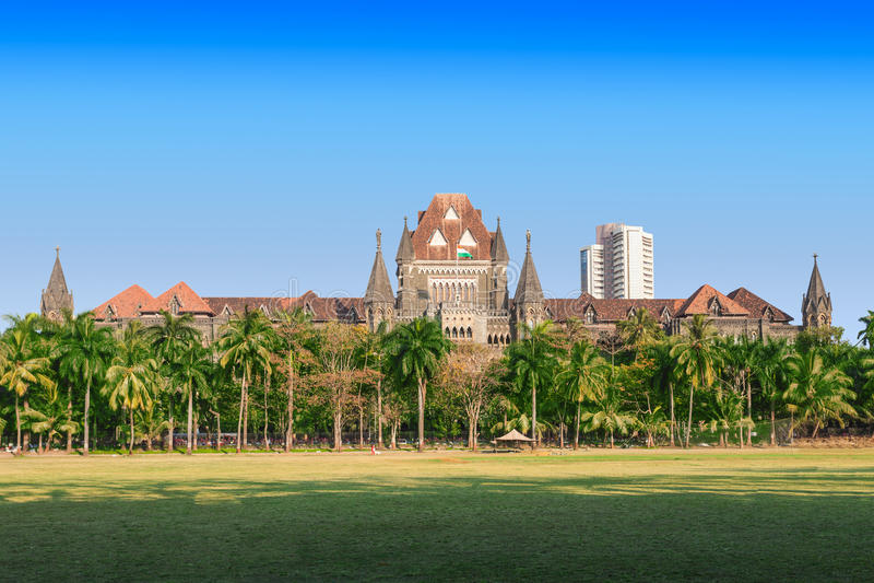Cour Suprême de Bombay photo libre de droits
