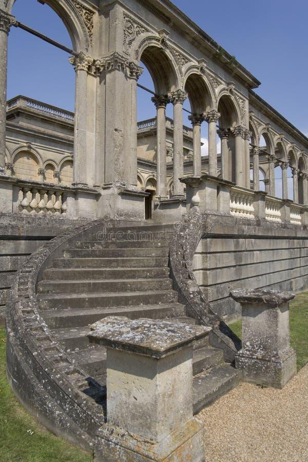 Cour Worcestershire à la maison majestueux Angleterre de Witley image libre de droits