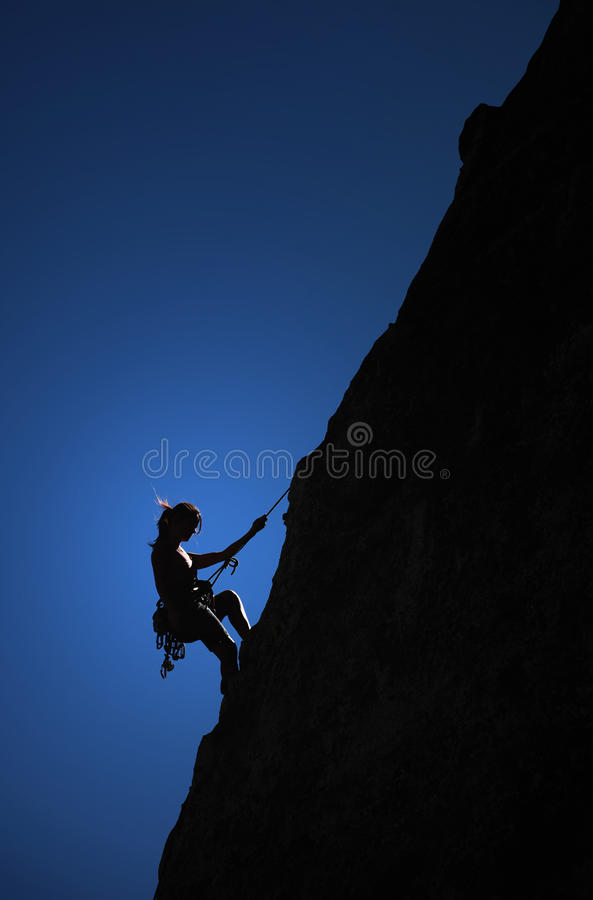 Courage royalty free stock photography