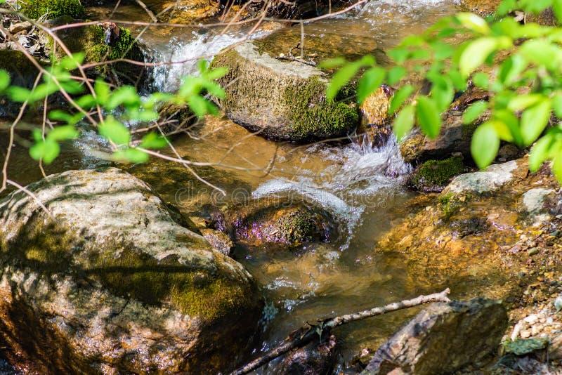 Courant d'isolement de Mountian en Virginie, Etats-Unis image libre de droits