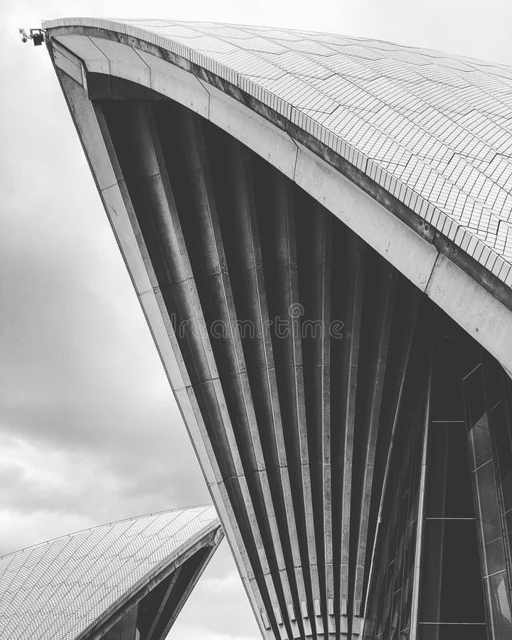 courbe du théatre de l'opéra photos stock