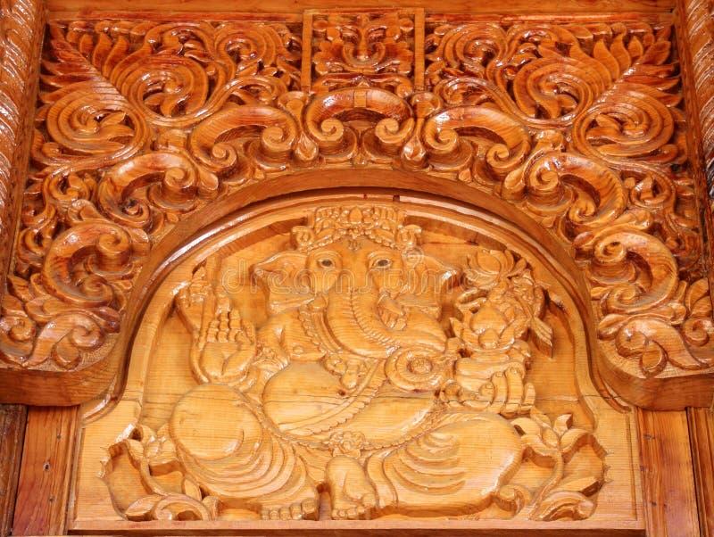 Courber le travail dans Temple-6 images stock