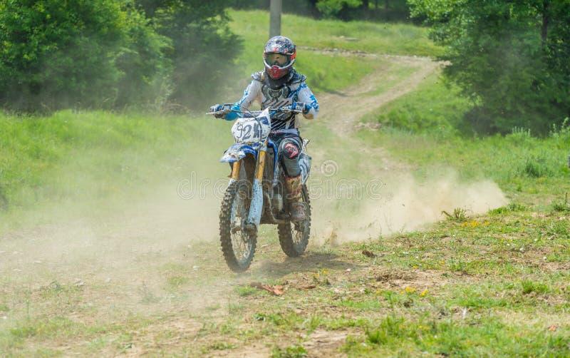 Coureur de motocross photos stock