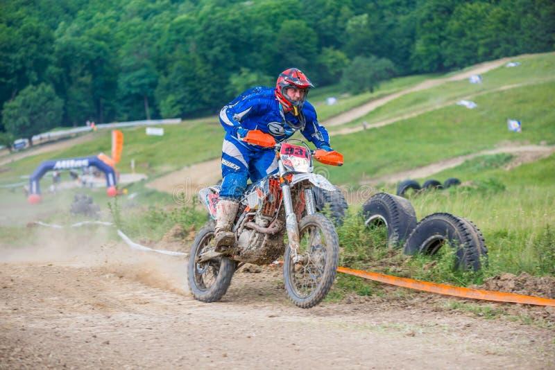 Coureur de motocross photographie stock libre de droits