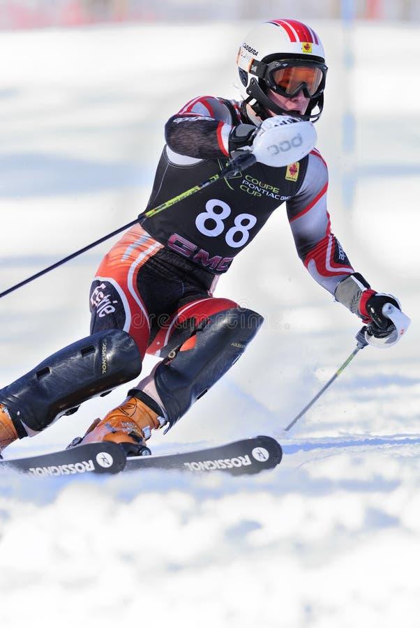 Coureur de ski photos stock