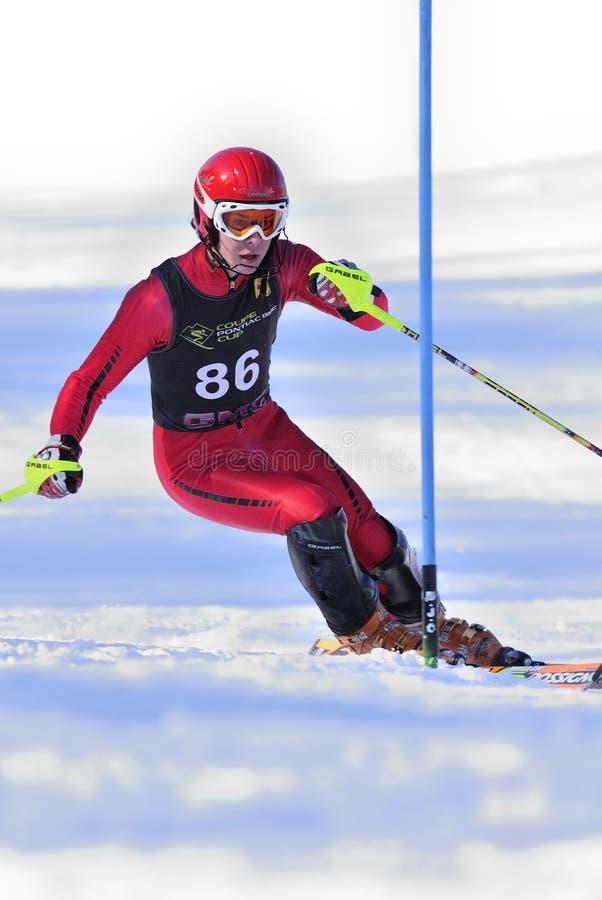 Coureur de ski photo stock