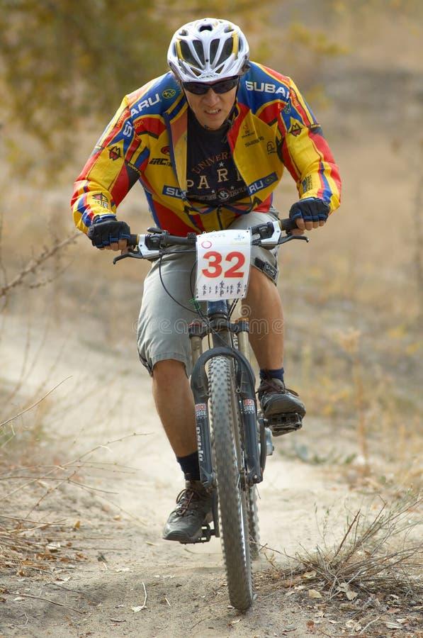 Coureur de vélo photos stock