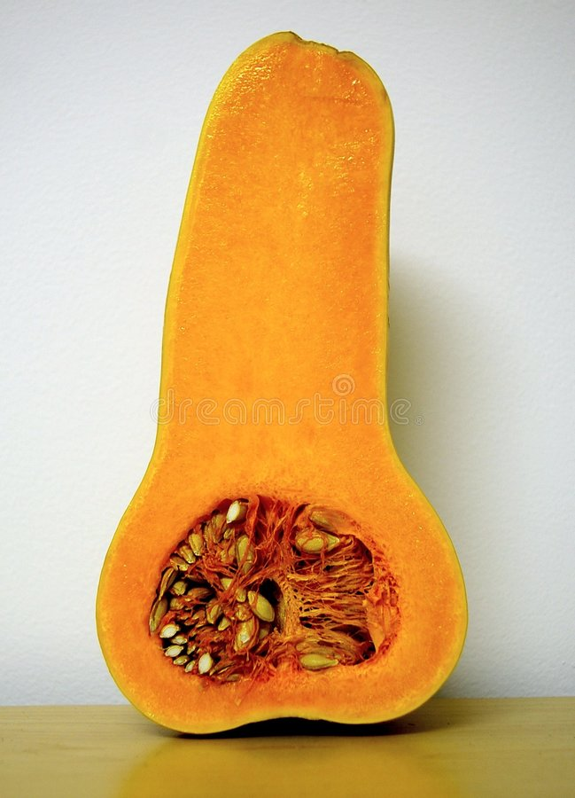 Courge de Butternut photo libre de droits