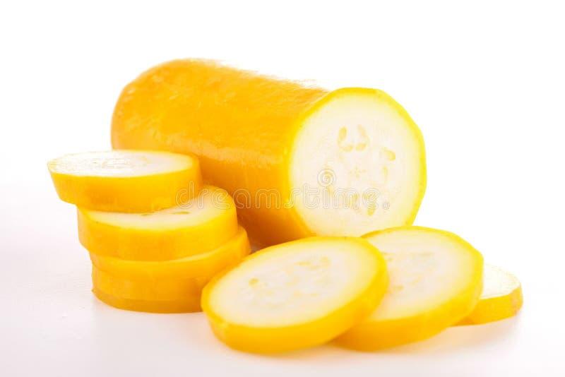 Courgette jaune image libre de droits