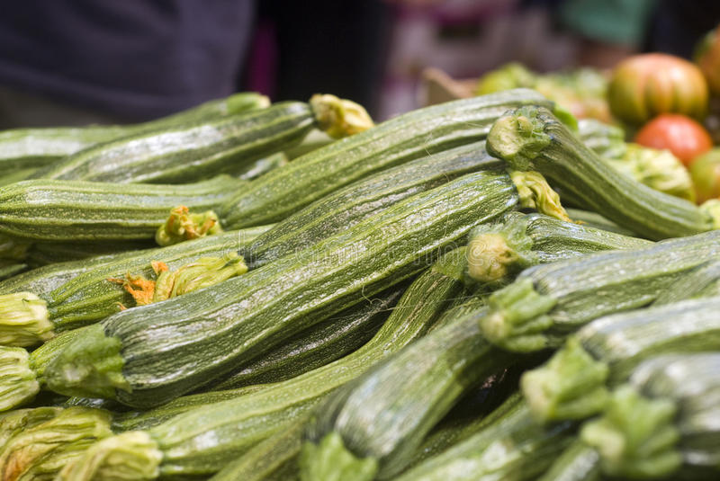 Courgette verte images stock