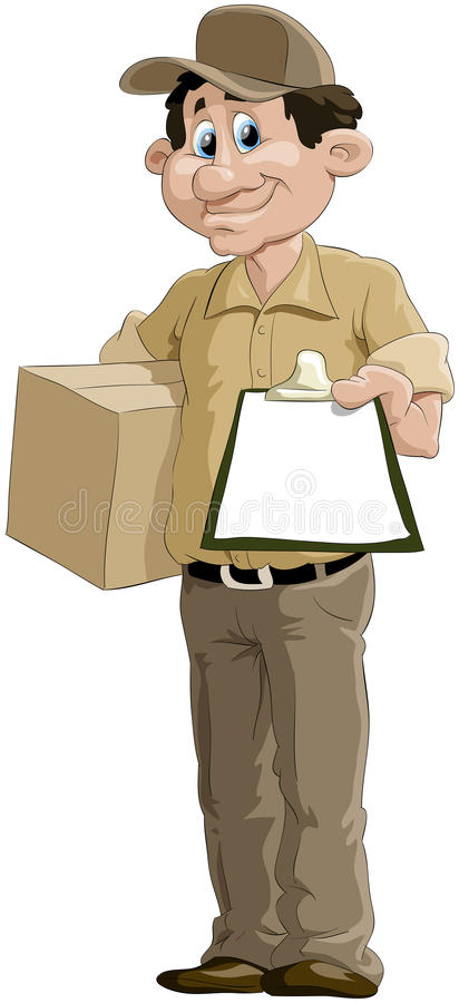 Download Courier Stock Photo - Image: 15617510
