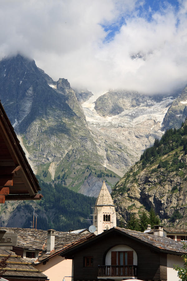 Download Courmayeur stock image. Image of alps, prayer, valle - 16822041