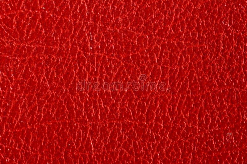 Couro vermelho imagens de stock