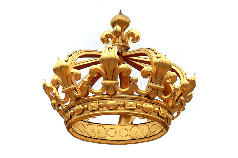 Couronne d'or photos stock
