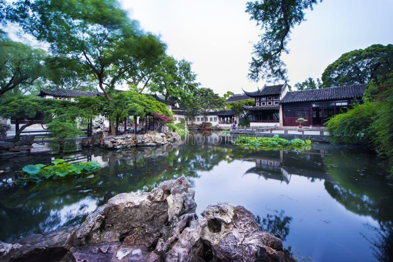 Couronne prolongée Yunfeng de Suzhou de jardin photos libres de droits