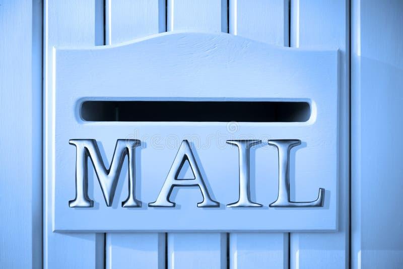 Courrier de boîte aux lettres photo stock