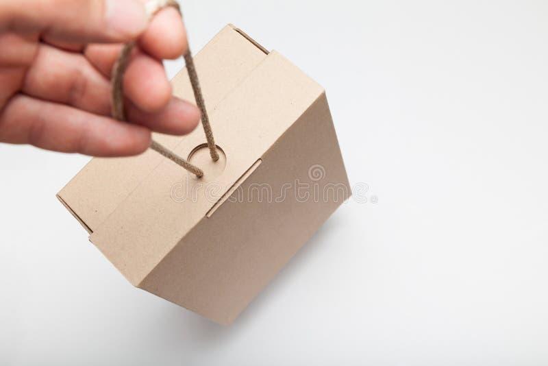 Courrier de bureau, service de colis Boîte de reçu de messager images libres de droits