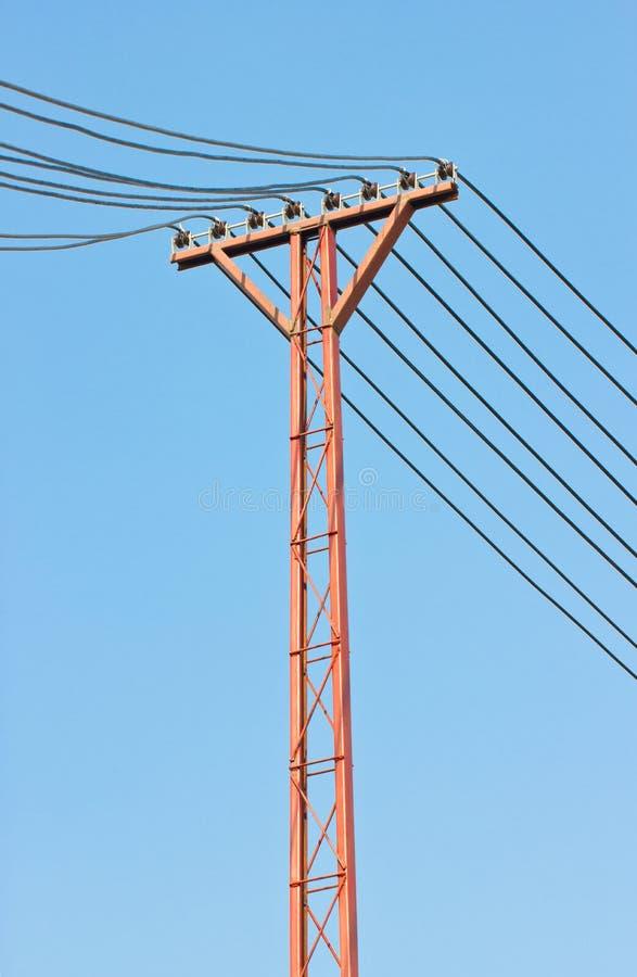 Courrier de l'électricité. photos stock
