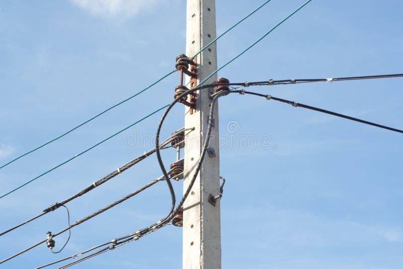 Courrier de l'électricité image libre de droits