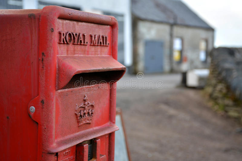 courrier royal photo stock