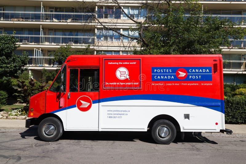 Courrier Van de Canada photo libre de droits