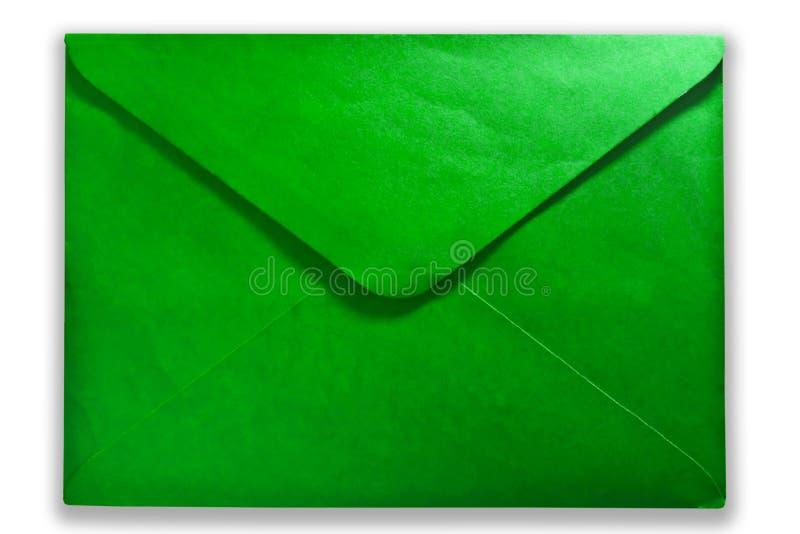 Courrier vert photos libres de droits