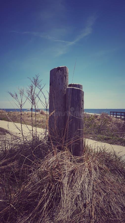 Courriers de plage image stock