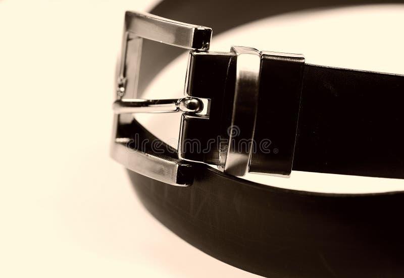 Courroie noire images stock