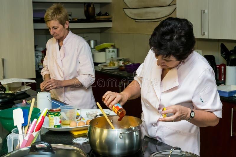 Cours de cuisine à faible teneur en sel de Nestle image stock