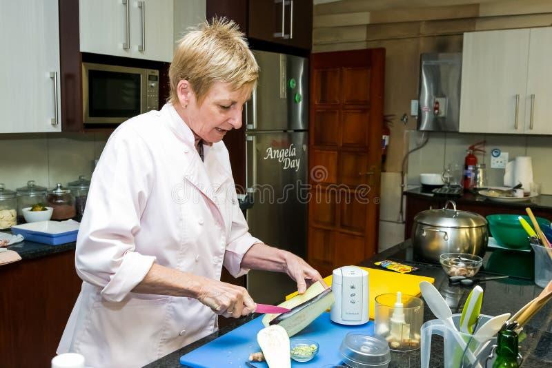 Cours de cuisine à faible teneur en sel de Nestle image libre de droits