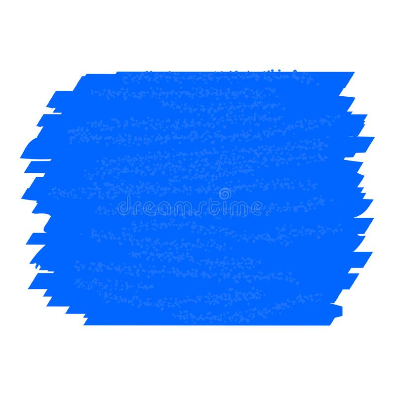 Course bleue de couleur d'eau de texture Fond bleu abstrait illustration libre de droits