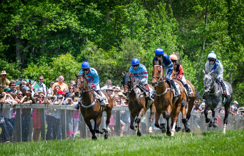 Course d'obstacles de Blockhose photo stock