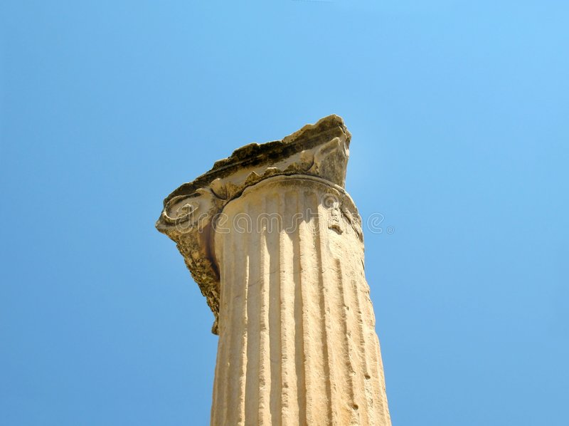 Course dans Ephesus photos libres de droits