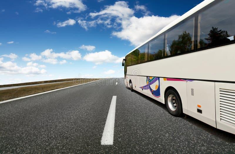 Course de bus image stock