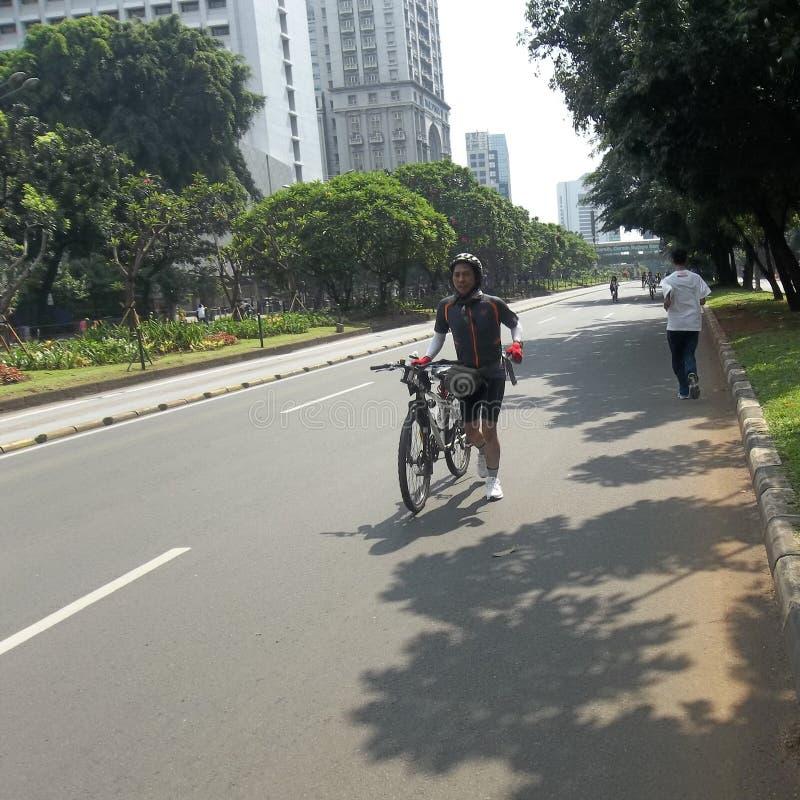 Course de cycle image libre de droits
