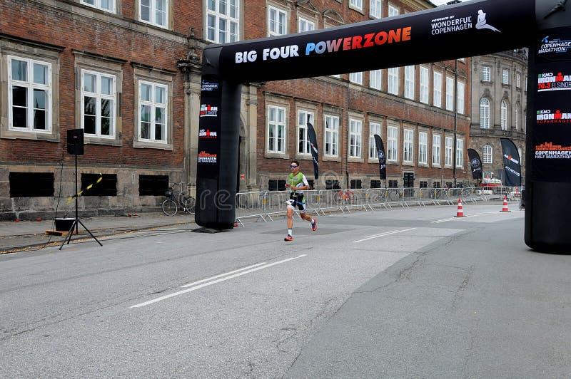 Course 2018 de sports de Copenhague Inronman photo stock