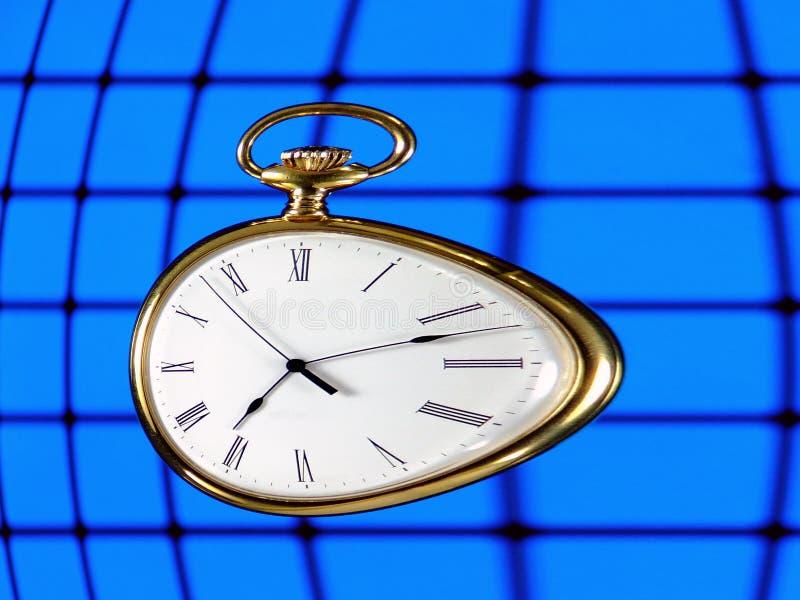 Course de temps image libre de droits