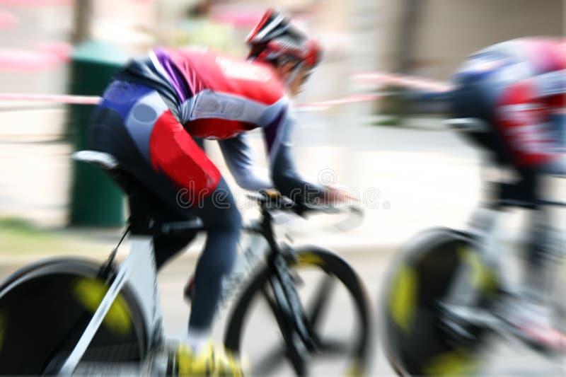 Course de vélo images stock